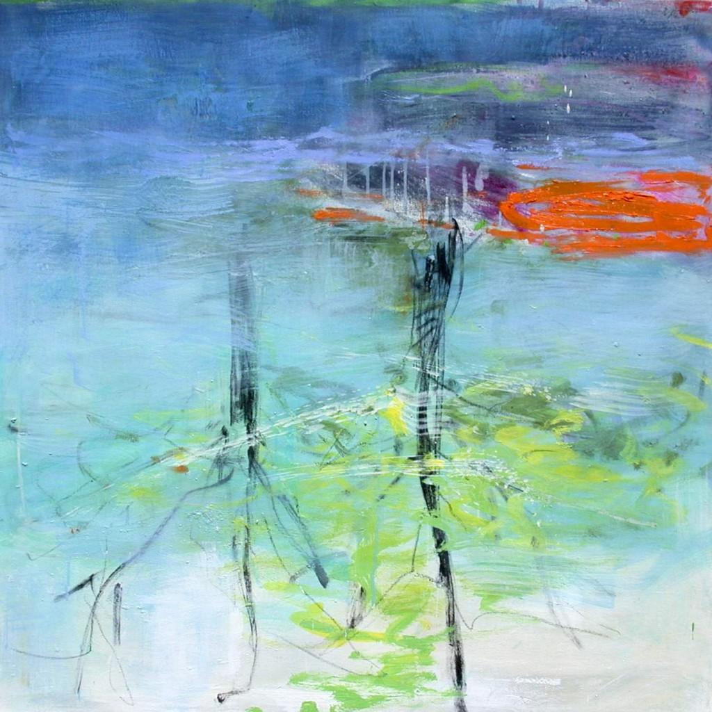 Reflexiones 100x100cm  Leinwand / Lienzo